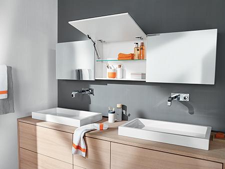 Sokrétű felhasználási lehetőség: fürdőszobában a HK-XS