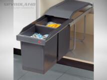 Hailo Tandem 300 hulladéktároló