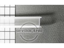 Bepattintós opál LED takaró szalag aluprofilba