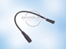 DC - MINI átalakító kábel (15 cm)