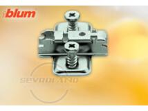 CLIP 3 mm-es eurocsavaros keresztalakú szerelőtalp