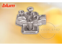 Modul 3 mm-es eurocsavaros keresztalakú szerelőtalp