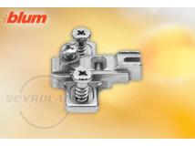 Modul 3 mm-es eurocsavaros keresztalakú szerelőtalp pillérpánthoz