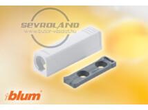 TIP-ON egyenes rövid adapter fehér
