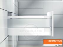 Blum TANDEMBOX Antaro D selyemfehér fiók szatén üveggel