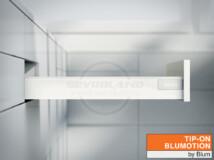 Blum TANDEMBOX Antaro N TIP-ON BLUMOTION selyemfehér fiók