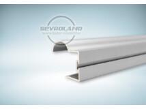 Sevroll Focus fogó profil ezüst színben