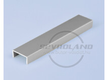 Sevroll C élzáró profil 3 m ezüst