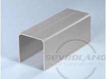 Sevroll Single felső sín ezüst