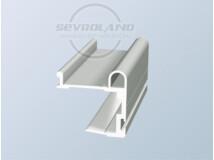 Tytan fogó profil ezüst 2,7 m