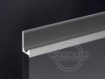 ZOBAL UKW-5 fogó profil ezüst 3,5 m