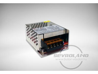 25W ipari LED tápegység (fémházas, sorkapoccsal)