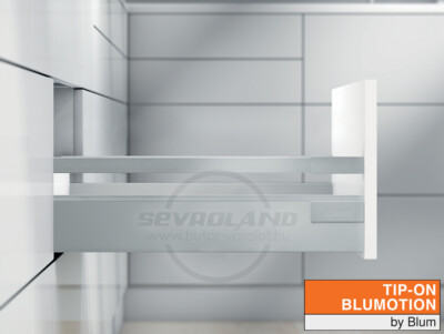 Blum TANDEMBOX Antaro B TIP-ON BLUMOTION világosszürke fiók