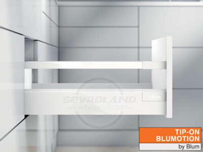 Blum TANDEMBOX Antaro C TIP-ON BLUMOTION selyemfehér fiók