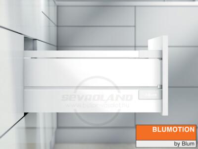 Blum TANDEMBOX Antaro D selyemfehér fiók fémoldallal