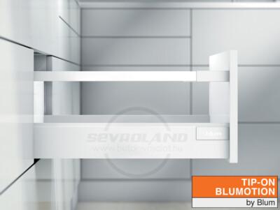 Blum TANDEMBOX Antaro D TIP-ON BLUMOTION selyemfehér fiók