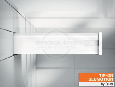 Blum TANDEMBOX Antaro K TIP-ON BLUMOTION selyemfehér fiók