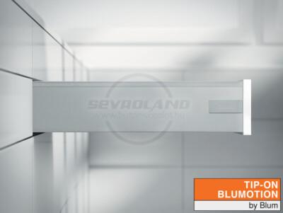 Blum TANDEMBOX Antaro K TIP-ON BLUMOTION világosszürke fiók