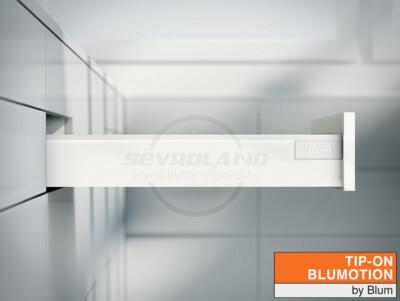 Blum TANDEMBOX Antaro M TIP-ON BLUMOTION selyemfehér fiók