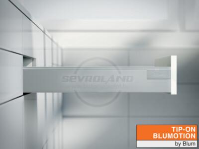 Blum TANDEMBOX Antaro M TIP-ON BLUMOTION világosszürke fiók