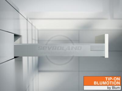 Blum TANDEMBOX Antaro N TIP-ON BLUMOTION világosszürke fiók