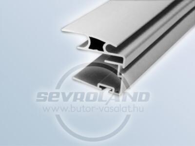 Delta fogó profil ezüst színben