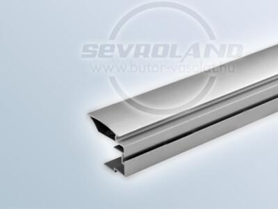 Sevroll Alfa fogó profil ezüst színben