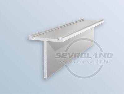 Sevroll Decor T osztóprofil 3 m ezüst
