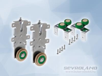 Sevroll Elegant-18 alsó-felső görgő szett (stopper nélkül)