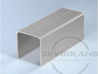Sevroll Single felső sín ezüst színben
